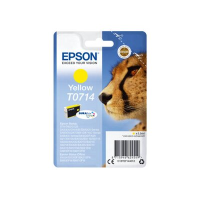 Epson T0714 DURABrite Ultra Ink Yellow