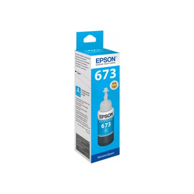 Epson T6732 Ink Bottle Cyan