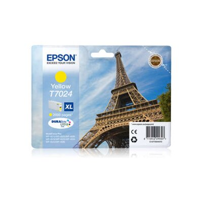 Epson T7024 XL DURABrite Ultra Ink Yellow