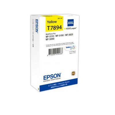 Epson T7894 XXL DURABrite Ultra Ink Yellow